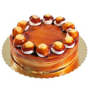 Торта Брюле Карамел